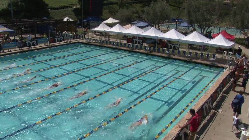 Women's 400 Freestyle Heat 01 - 2012 Mission Viejo Swim Meet of Champions