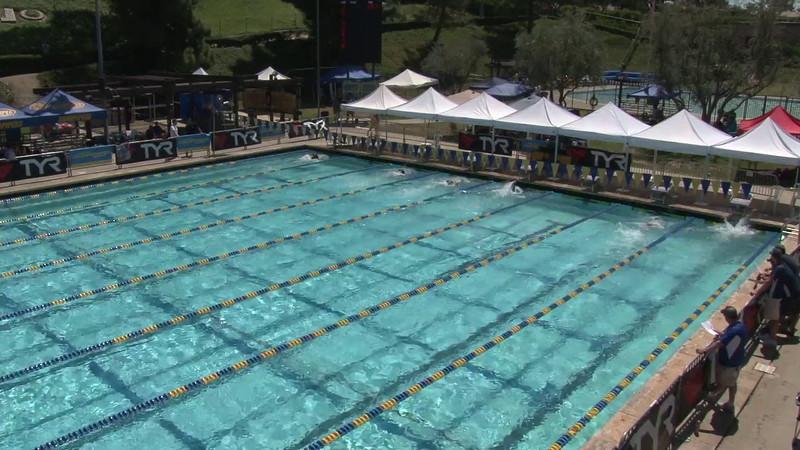 Men's 400 Freestyle Heat 09 - 2012 Mission Viejo Swim Meet of Champions