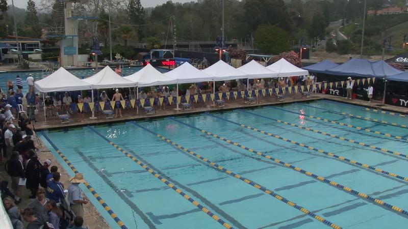 Men's 400 Medley Final B - 2012 Mission Viejo Swim Meet of Champions
