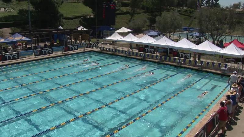 Women's 400 Freestyle Heat 07 - 2012 Mission Viejo Swim Meet of Champions