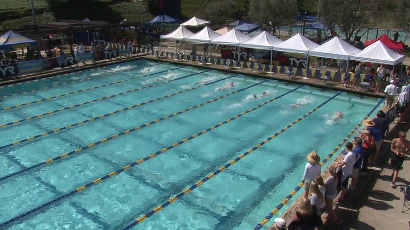 Men's 200 Breaststroke Heat 02 - 2012 Mission Viejo Swim Meet of Champions
