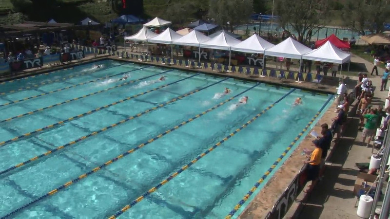 Men's 200 Freestyle Heat 10 - 2012 Mission Viejo Swim Meet of Champions