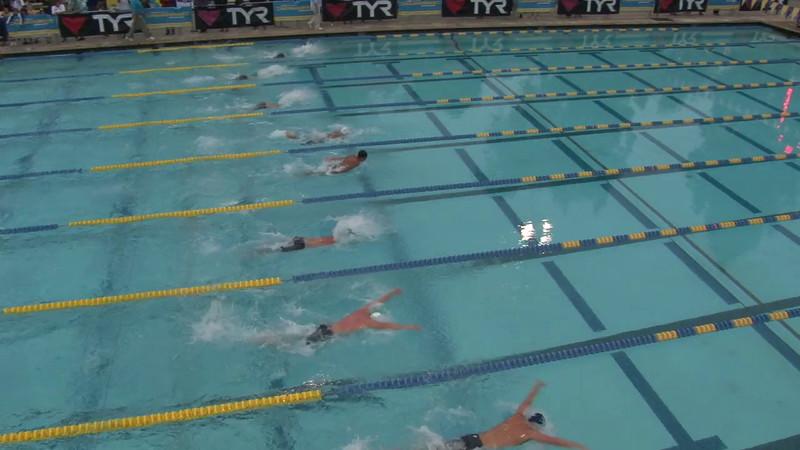 Men's 400 Medley Final A - 2012 Mission Viejo Swim Meet of Champions