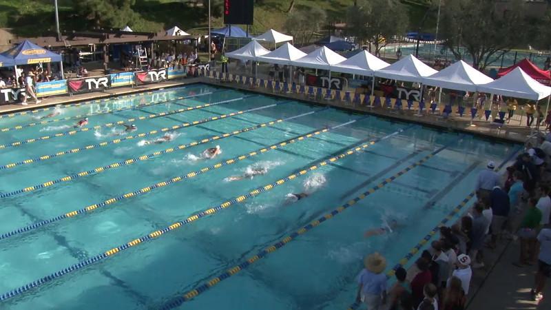 Women's 200 Breaststroke Final B - 2012 Mission Viejo Swim Meet of Champions