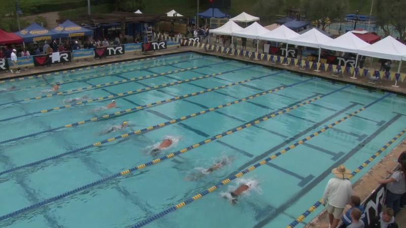 Men's 100 Butterfly Heat 06 - 2012 Mission Viejo Swim Meet of Champions