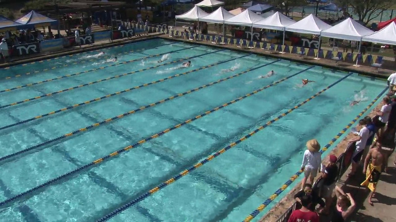 Women's 200 Breaststroke Heat 08 - 2012 Mission Viejo Swim Meet of Champions