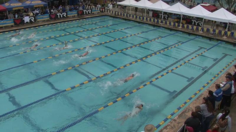 Men's 100 Backstroke Heat 03 - 2012 Mission Viejo Swim Meet of Champions