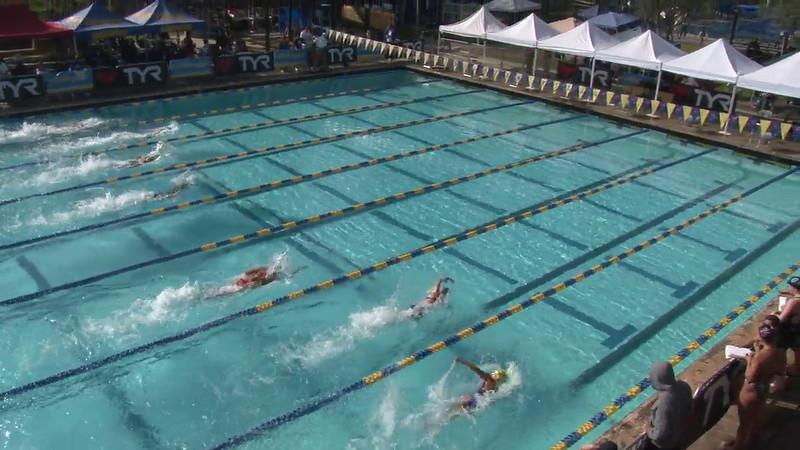 Women's 100 Freestyle Heat 08 - 2012 Mission Viejo Swim Meet of Champions