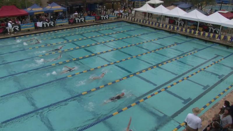 Women's 100 Backstroke Heat 11 - 2012 Mission Viejo Swim Meet of Champions