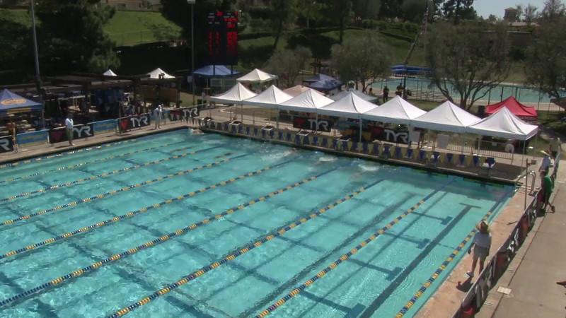 Men's 400 Medley Heat 09 - 2012 Mission Viejo Swim Meet of Champions