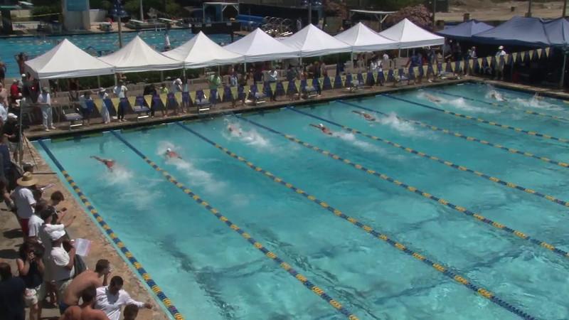 Men's 50 Freestyle Heat 04 - 2012 Mission Viejo Swim Meet of Champions