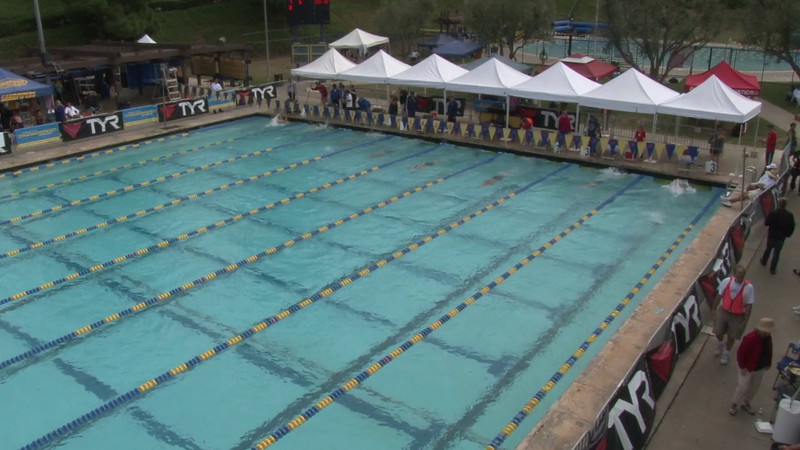 Men's 800 Freestyle Heat 07 - 2012 Mission Viejo Swim Meet of Champions