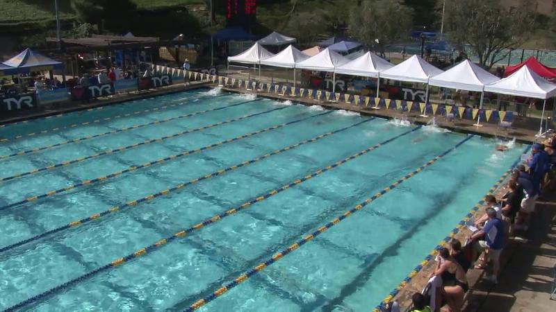 Men's 100 Freestyle Heat 03 - 2012 Mission Viejo Swim Meet of Champions
