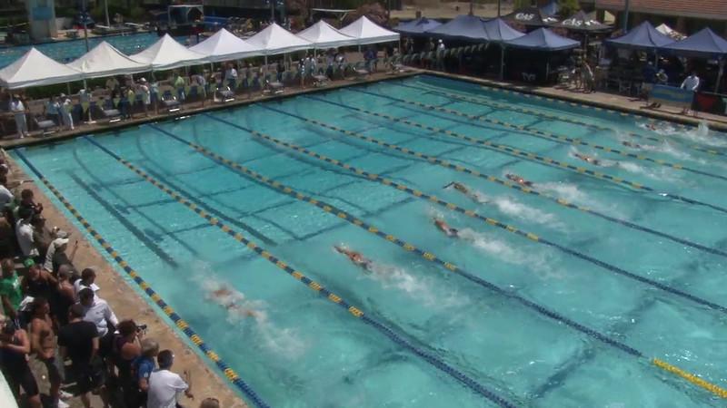 Women's 50 Freestyle Heat 07 - 2012 Mission Viejo Swim Meet of Champions