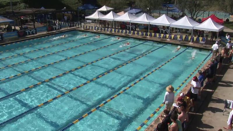 Women's 200 Breaststroke Heat 05 - 2012 Mission Viejo Swim Meet of Champions