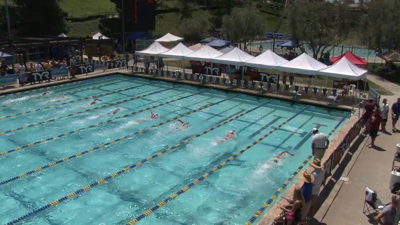 Women's 400 Freestyle Heat 06 - 2012 Mission Viejo Swim Meet of Champions