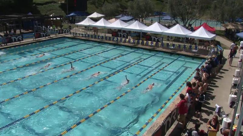 Men's 200 Backstroke Heat 04 - 2012 Mission Viejo Swim Meet of Champions