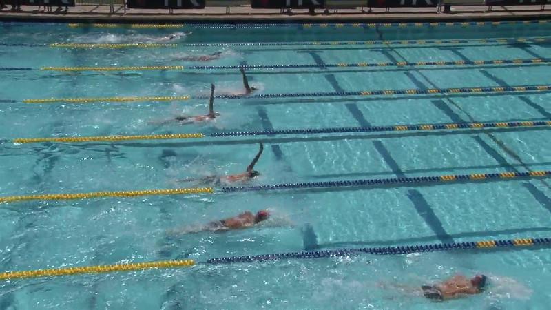 Men's 200 Backstroke Heat 08 - 2012 Mission Viejo Swim Meet of Champions