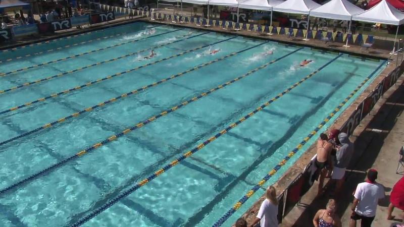 Men's 100 Freestyle Heat 16 - 2012 Mission Viejo Swim Meet of Champions