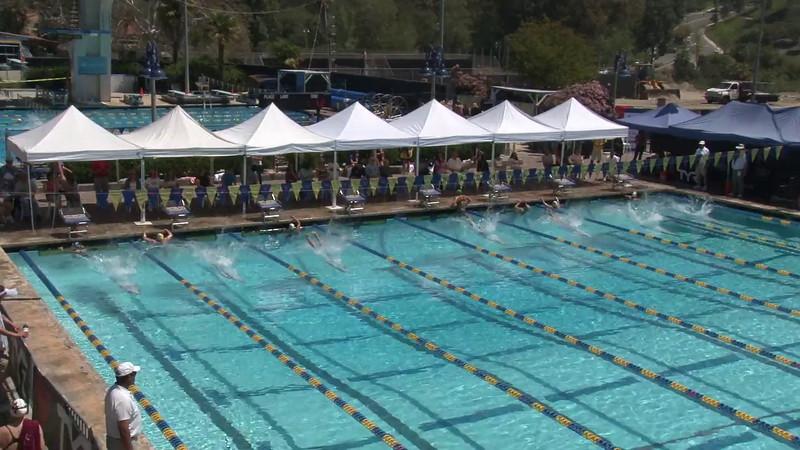 Men's 400 Freestyle Heat 02 - 2012 Mission Viejo Swim Meet of Champions