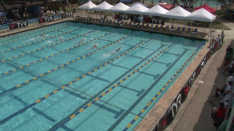 Women's 1500 Freestyle Heat 04 - 2012 Mission Viejo Swim Meet of Champions