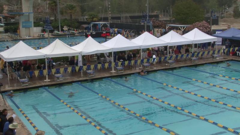 Men's 100 Backstroke Heat 06 - 2012 Mission Viejo Swim Meet of Champions
