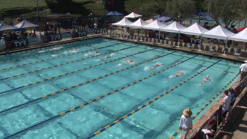 Women's 200 Breaststroke Heat 11 - 2012 Mission Viejo Swim Meet of Champions