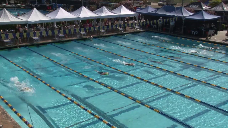 Women's 200 Breaststroke Heat 07 - 2012 Mission Viejo Swim Meet of Champions