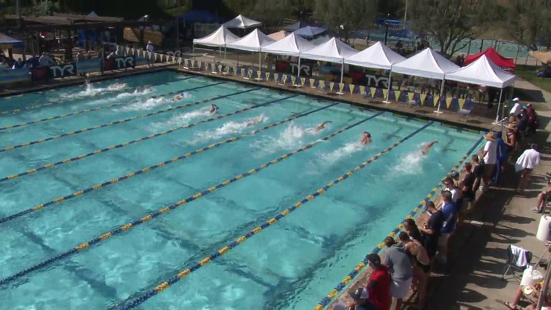 Men's 100 Freestyle Heat 07 - 2012 Mission Viejo Swim Meet of Champions