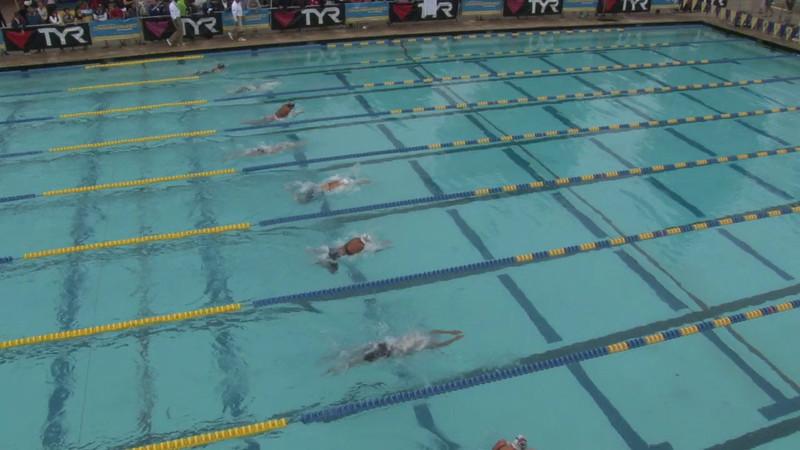 Women's 100 Butterfly Heat 06 - 2012 Mission Viejo Swim Meet of Champions