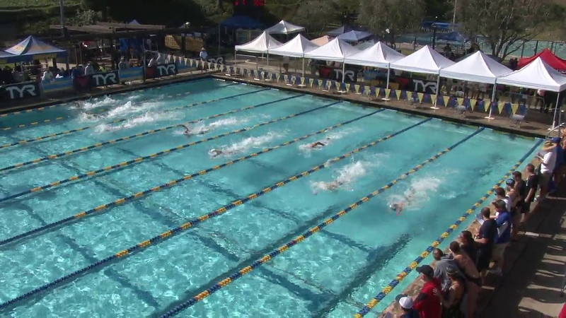 Men's 100 Freestyle Heat 06 - 2012 Mission Viejo Swim Meet of Champions