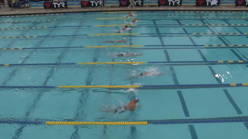 Men's 100 Butterfly Final B - 2012 Mission Viejo Swim Meet of Champions