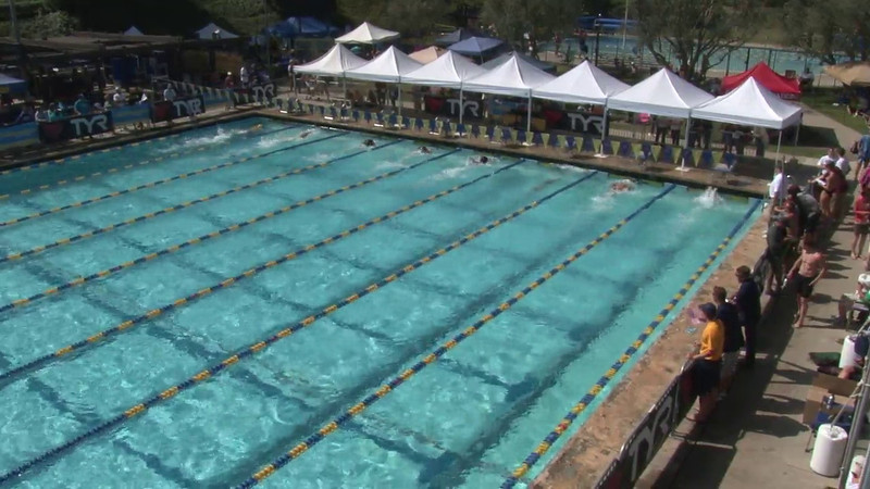 Men's 200 Freestyle Heat 09 - 2012 Mission Viejo Swim Meet of Champions