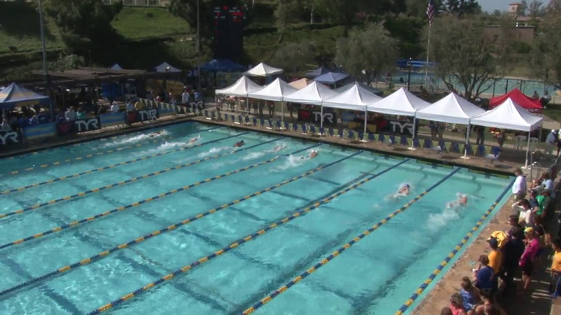 Men's 200 Freestyle Heat 01 - 2012 Mission Viejo Swim Meet of Champions