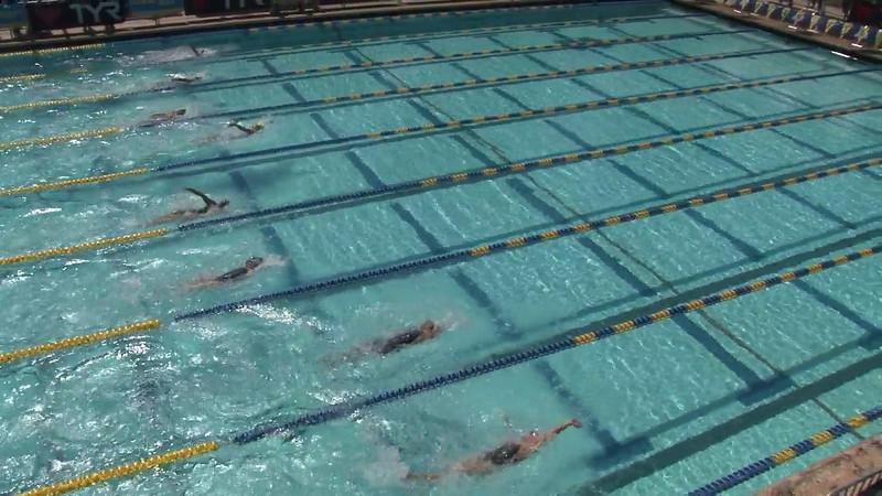 Women's 200 Backstroke Heat 05 - 2012 Mission Viejo Swim Meet of Champions