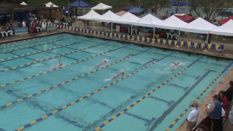Men's 100 Backstroke Heat 12 - 2012 Mission Viejo Swim Meet of Champions