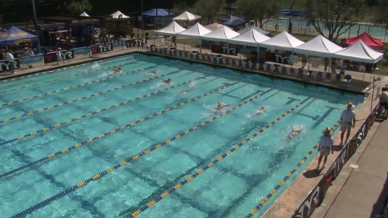 Women's 400 Medley Heat 11 - 2012 Mission Viejo Swim Meet of Champions