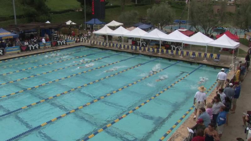 Women's 200 Medley Heat 12 - 2012 Mission Viejo Swim Meet of Champions