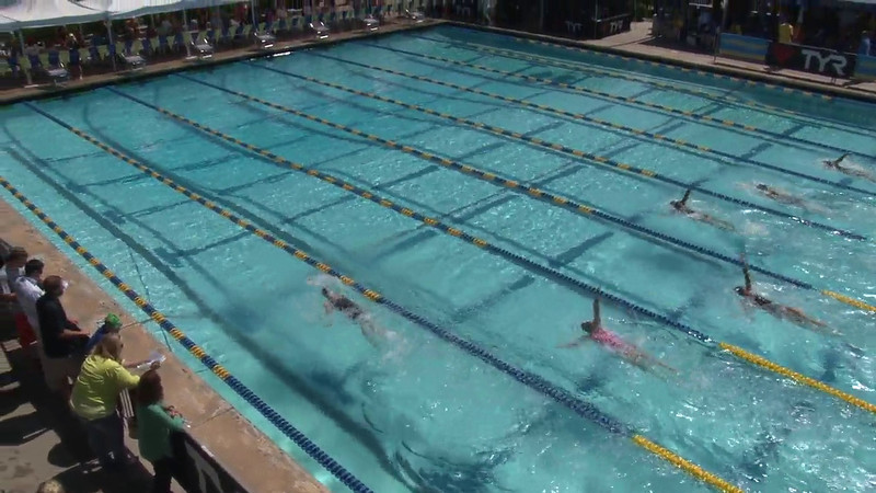 Women's 200 Backstroke Heat 09 - 2012 Mission Viejo Swim Meet of Champions