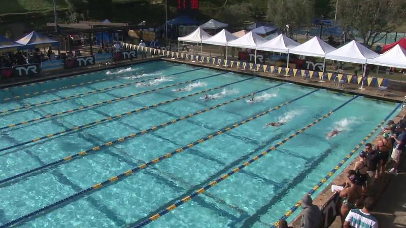 Women's 100 Freestyle Heat 07 - 2012 Mission Viejo Swim Meet of Champions