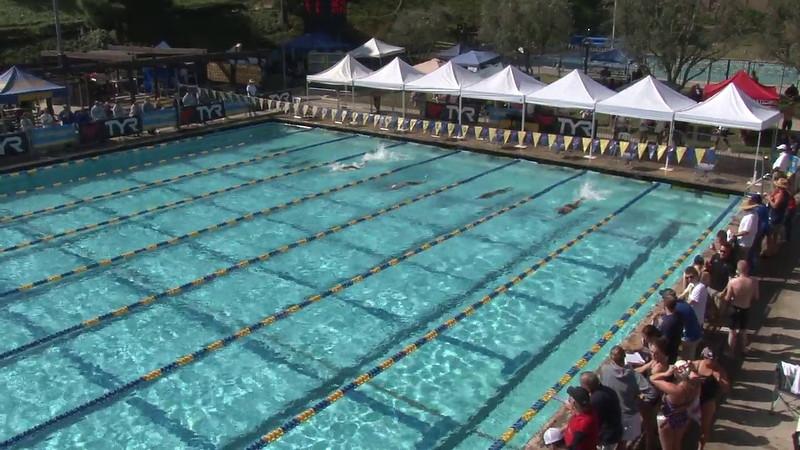 Men's 100 Freestyle Heat 09 - 2012 Mission Viejo Swim Meet of Champions