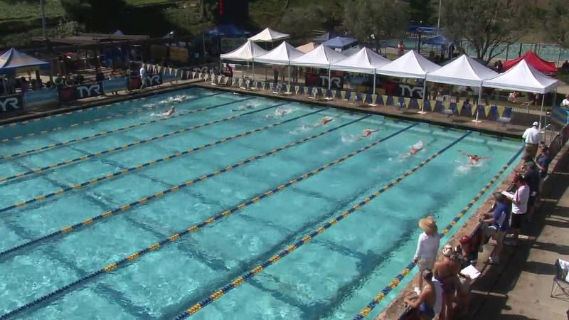 Women's 200 Breaststroke Heat 03 - 2012 Mission Viejo Swim Meet of Champions