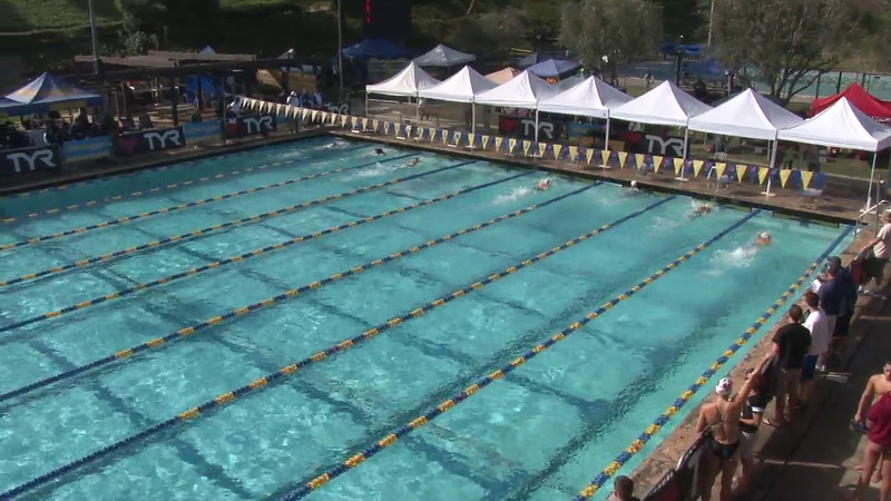Women's 100 Freestyle Heat 06 - 2012 Mission Viejo Swim Meet of Champions