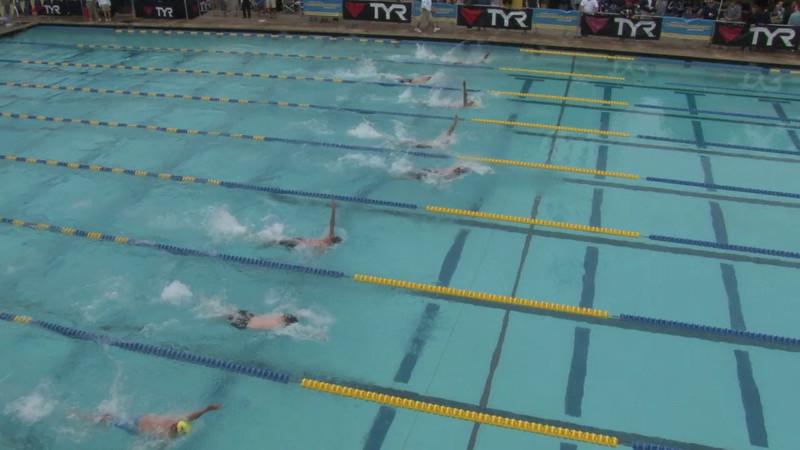 Men's 100 Backstroke Heat 01 - 2012 Mission Viejo Swim Meet of Champions