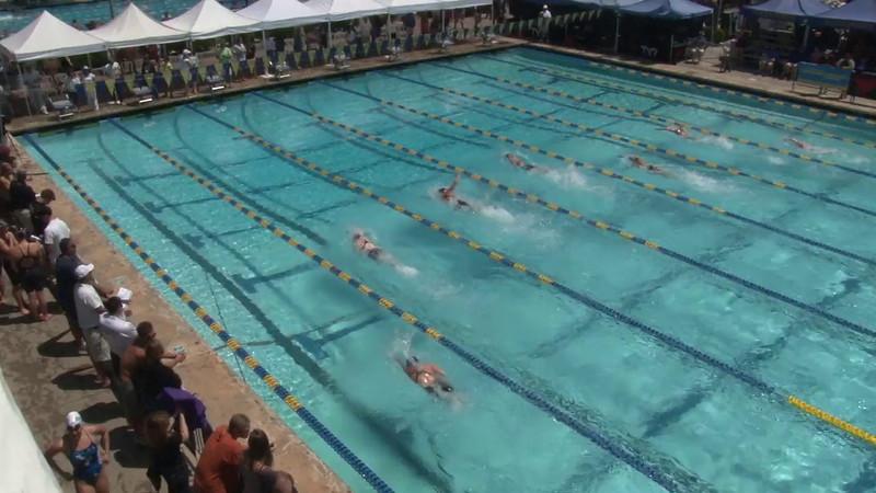Women's 50 Freestyle Heat 18 - 2012 Mission Viejo Swim Meet of Champions