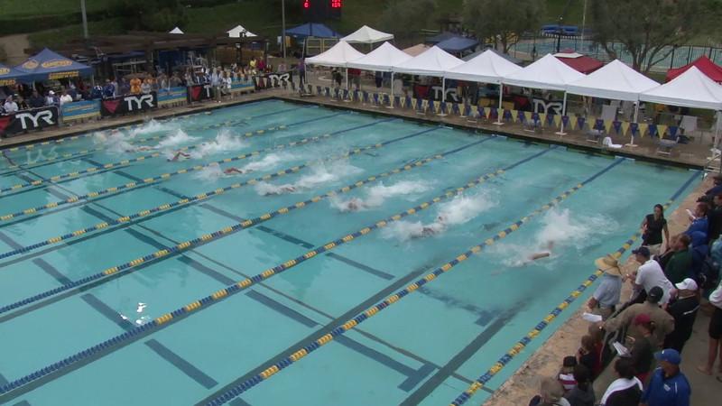 Men's 50 Freestyle Final A - 2012 Mission Viejo Swim Meet of Champions