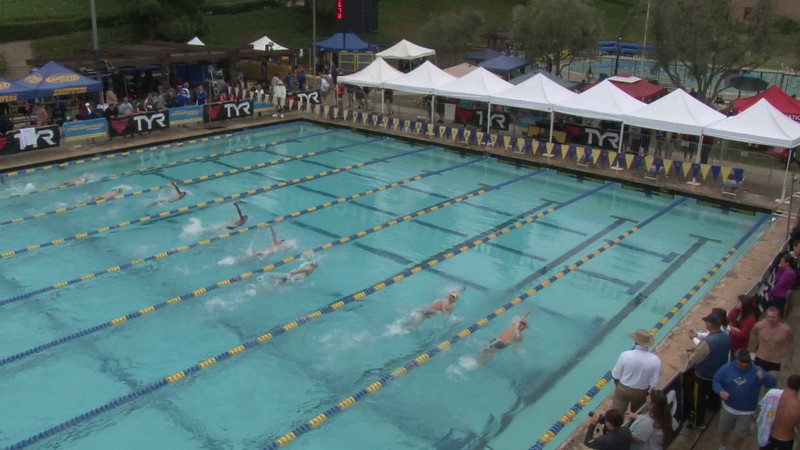 Men's 100 Backstroke Heat 10 - 2012 Mission Viejo Swim Meet of Champions
