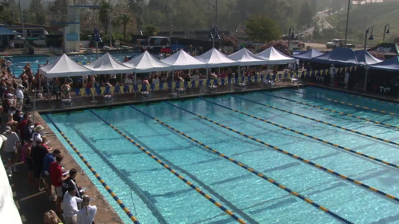 Women's 100 Freestyle Heat 16 - 2012 Mission Viejo Swim Meet of Champions