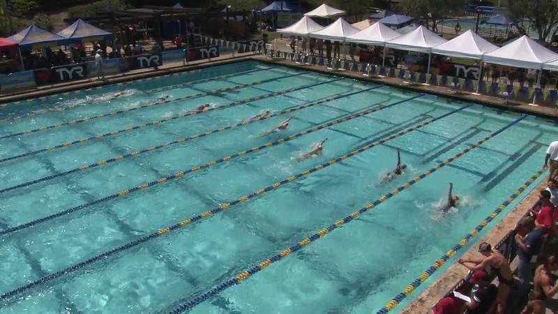 Women's 200 Backstroke Heat 02 - 2012 Mission Viejo Swim Meet of Champions