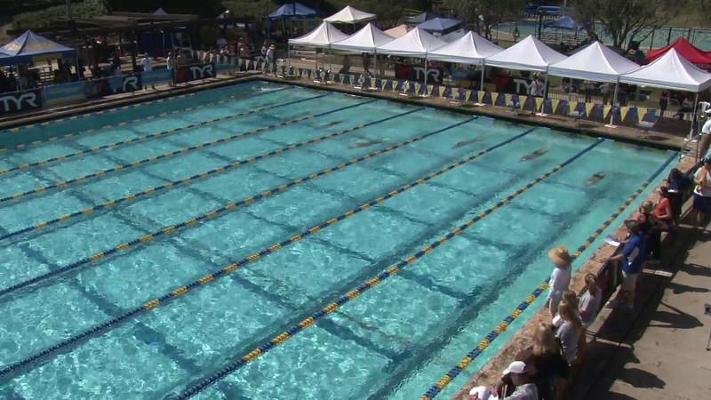 Men's 200 Breaststroke Heat 01 - 2012 Mission Viejo Swim Meet of Champions